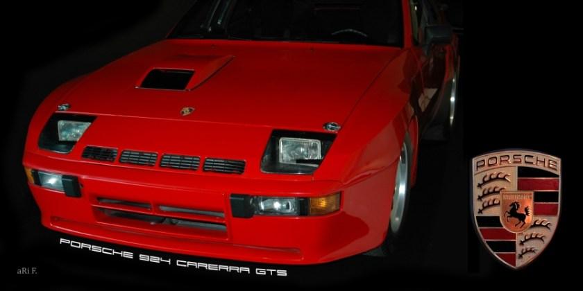 Porsche 924 Carrera GTS 1981 Poster