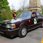Toyota Crown 170 PS Baujahr 1984 Team Toyota Classic mit Isolde Holderied