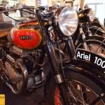 Motorrad Ariel 1000 ccm von 1949