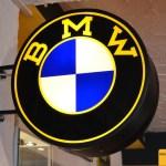 Leuchtreklame BMW Advertising / Werbung