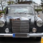 Mercedes-Benz 190 Db Ponton W 121 Frontansicht