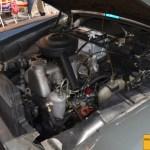 Mercedes-Benz 190 Db Ponton W 121 Motorraum mit Dieselmotor OM 621I mit 1897 cm³