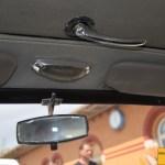 Mercedes-Benz 190 Db Ponton W 121 mit Rückspiegel Deckenbeleuchtung und Griff für Dachöffnung