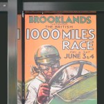 Plakat Brooklands The british 1000 Miles race