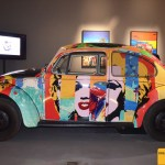 Pop Art VW Käfer foliert nach Motiven von James F. Gill