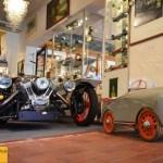 Threewheeler und Baby-Spielzeugauto