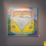 VW Bus T1 von James Francis Gill im Museum Art & Cars in Singen/Germany