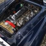 Austin-Healey 3000 Mk II Motorraum mit Kraftstoffzuführung Twin SU HS6 - fuel feed Twin SU HS6 carburettors