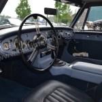Austin-Healey 3000 Mk II die Mittelkonsole wurde nachträglich eingbaut