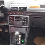 Peugeot 205 GRD Mittelkonsole mit Heizungsregler usw.