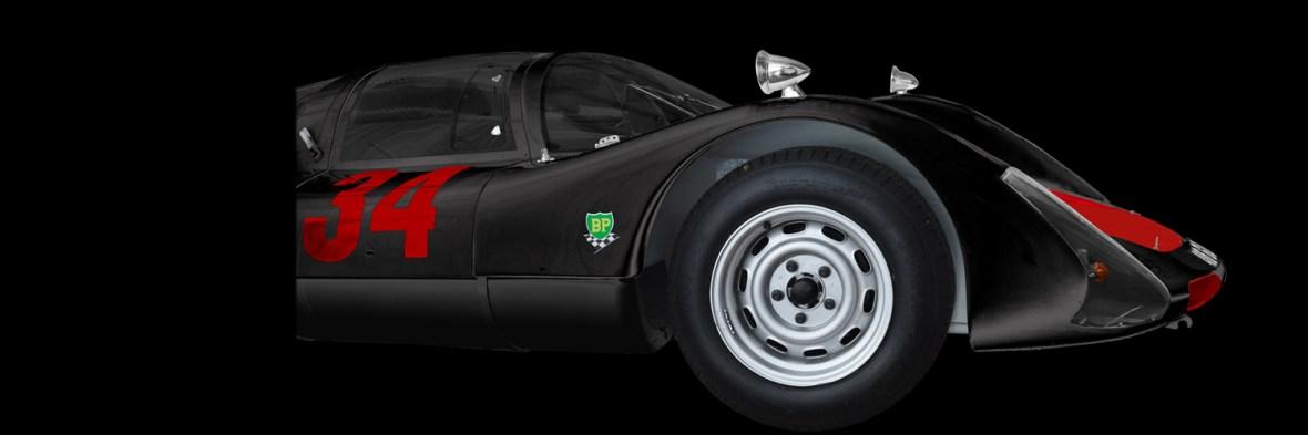 Porsche 906 Carrera 6 Poster