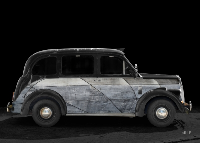 Beardmore Mk VII Paramount Art Car by aRi F.