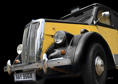 Beardmore Mk 7 Paramount Taxicab Poster