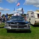 Buick LeSabre 1958–1961 mit Airstream Caravan bei Hymer Museumsfest 2017