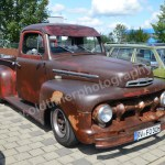 Ford Pick-up von 1951 im Rat-Look