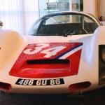 Porsche 906 Carrera 6 im Boxenstop Museum Tübingen