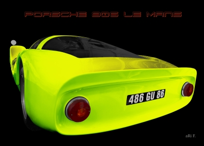 Porsche 906 Art Car new created by aRi F.