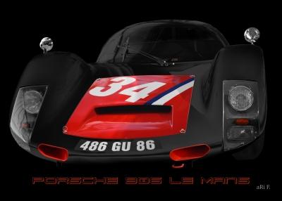 Porsche 906 Le Mans 1966 No. 34