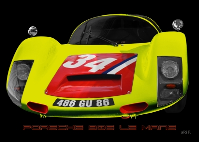 Porsche 906 Art Car by aRi F. in Langenargen/Germany