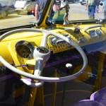 VW Bus T1 Samba Interieur im Hippie-Look