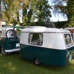 VW Bus T1 mit Wohnwagen Eriba Puck