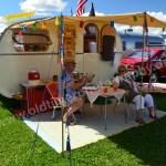 Wohnwagenidylle auf dem Hymer Museumsfest 2017
