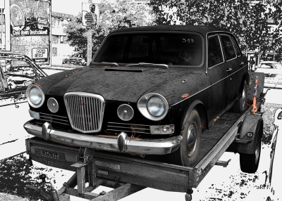 Wolseley 18/85 (1967-1972) ein Umbauprojekt (unrestauriert/unrestored)