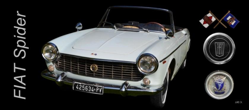 Fiat 1500 Spider by Pininfarina (1963-1966)