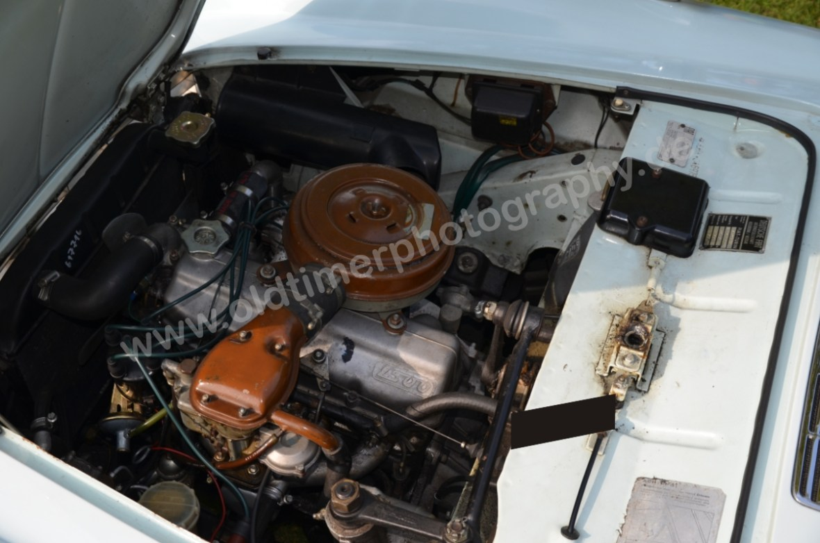 Fiat 1500 Spider mit 1481 ccm Motor