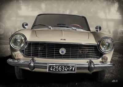 Fiat 1500 Spider Vintage Poster