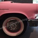 Ford Thunderbird Seitenansicht mit Schriftzug Thunderbird auf dem Kotflügel