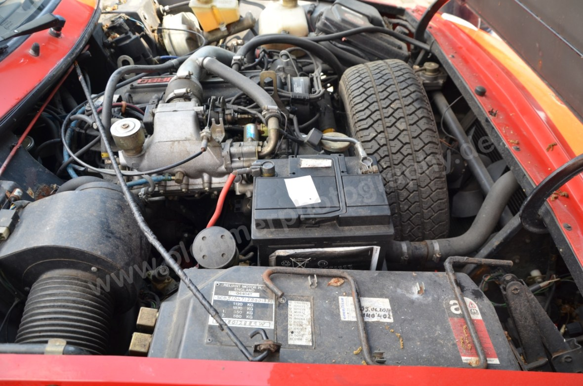 Reliant Scimitar SS1 Motorraum