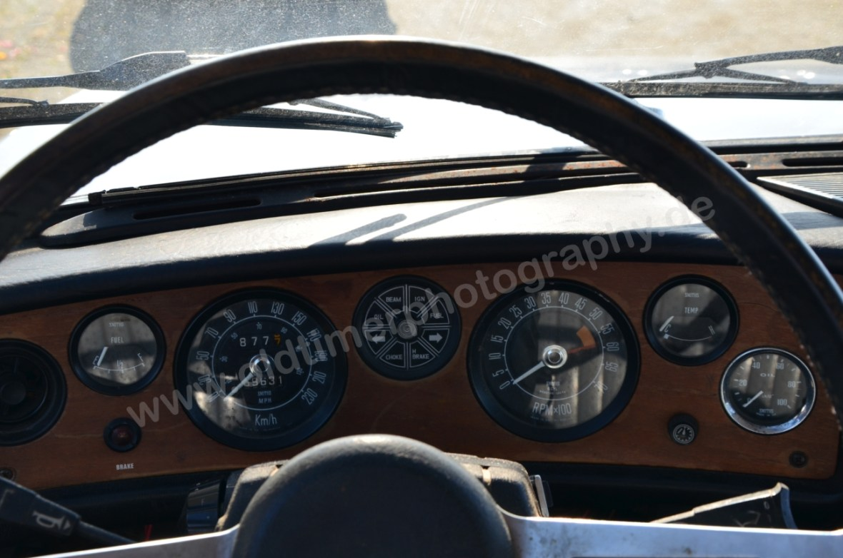 Triumph 2.5 PI Mk2 Estate Instrumente