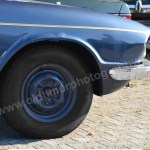 Triumph 2.5 PI Mk2 Estate Seitenansicht Detail Kotflügel