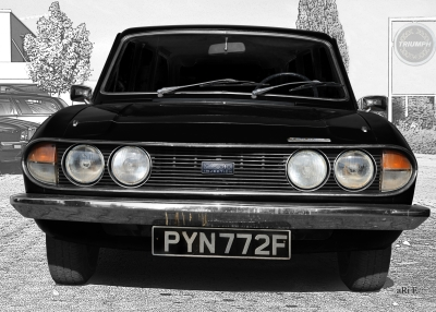 Triumph 2.5 PI Mk2 Estate Classic Car Photography by aRi F.