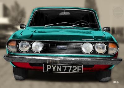 Triumph 2.5 PI Mk2 Estate Art-Car by aRi F.