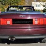 Audi 80 Cabrio Heckansicht