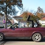 Audi 80 Cabrio Seitenansicht