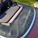 Audi 80 Cabrio mit geschlossenem Verdeck