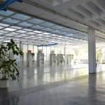 Felix-Wankel-Institut Innenansicht der Halle