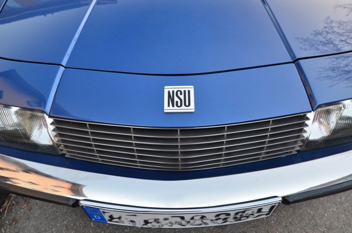 NSU Ro 80 Frontdetail
