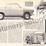 BMW 700 Advertising/Werbung 1960er 60s