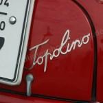 Fiat-NSU Topolino Schriftzug