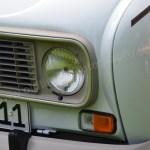 Renault 4 Scheinwerfer Detailansicht