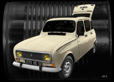 Renault 4 in antique dosage