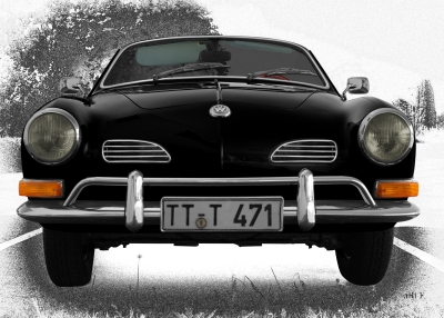 VW Karmann-Ghia Typ 14 black graphit