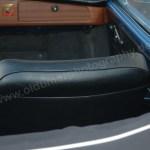 VW Karmann Ghia mit schwarze Ledersitze