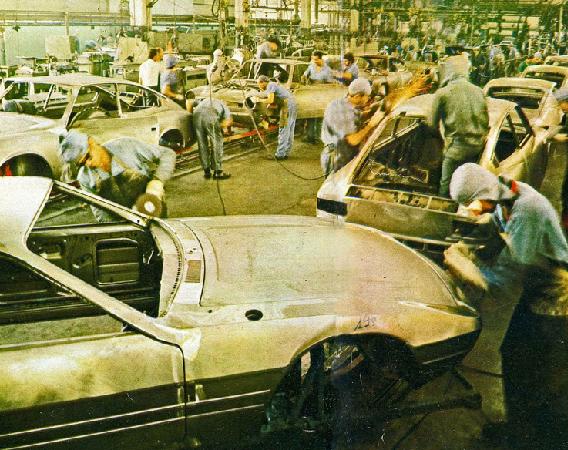 VW SP2 Fertigung bei Karmann-Ghia Brasil