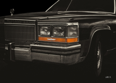 Cadillac Fleetwood Brougham Front Detail