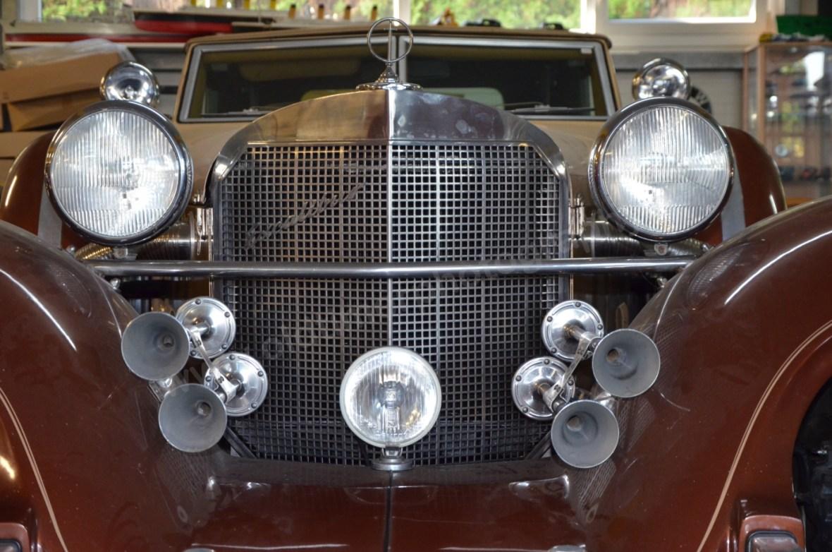 Excalibur Series IV Phaeton Kühlergrill mit 4 Doppeltonhörner